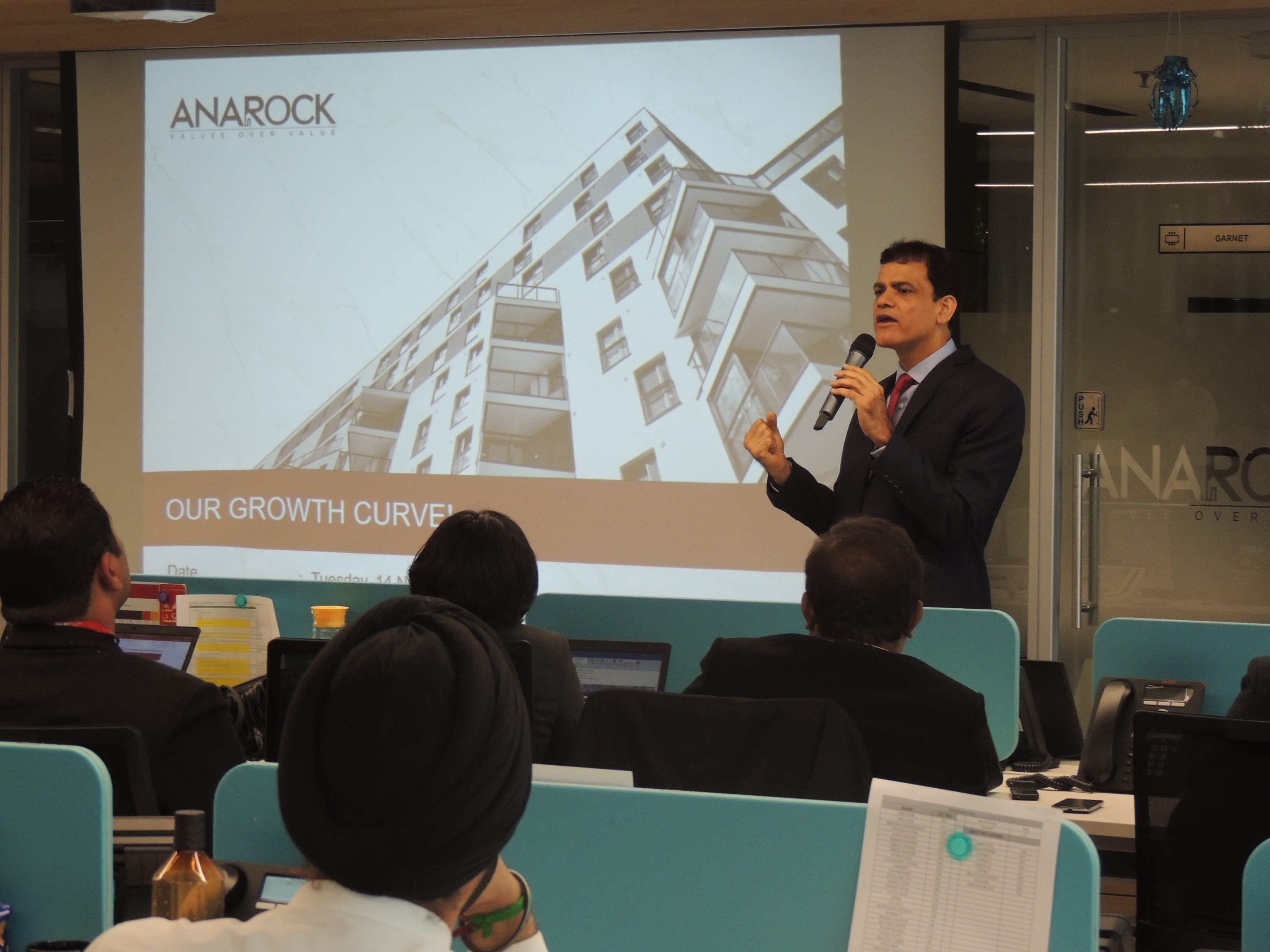 Anuj Puri, Chairman of Anarock, Puri sees his new venture as returning to his entrepreneurial roots