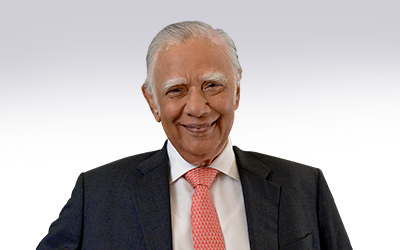 Gopinath Pillai, Chairman, Institute of South Asian Studies, National University of Singapore and Ambassador-at-Large, Ministry of Foreign Affairs