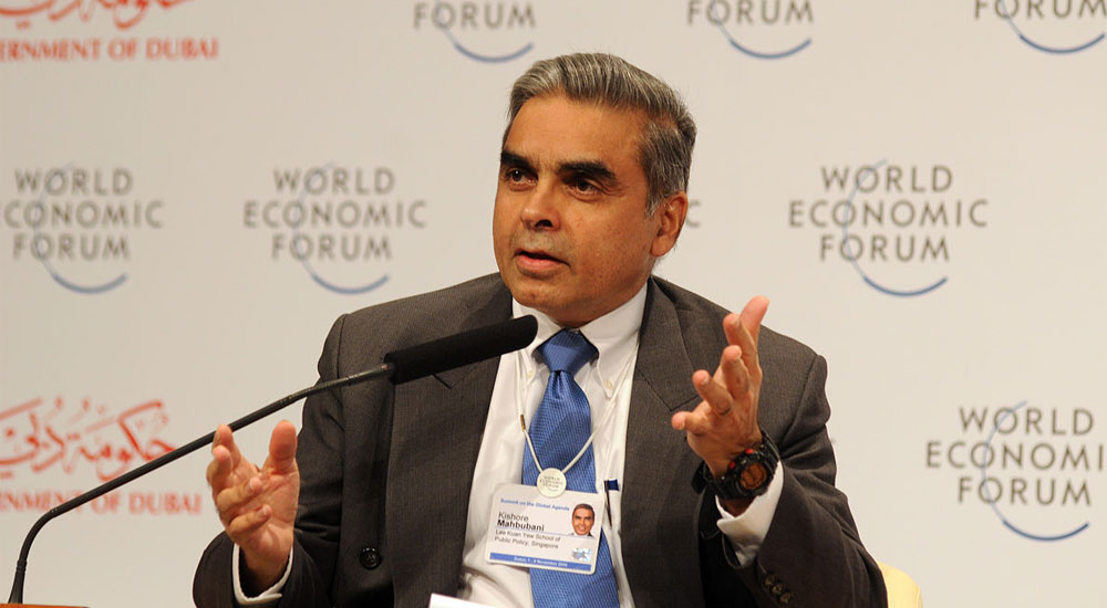 Kishore Mahbubani, Professor in the Practice of Public Policy and Dean of the LKY School of Public Policy, National University of Singapore