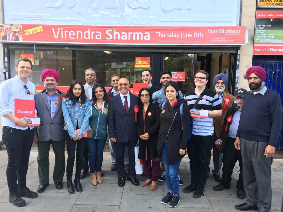 British Labour MP Virendra Sharma raised the issue of multiple entry visa to Indian on the line of Chinese nationals(Photo: Virendra Sharma's Facebook)