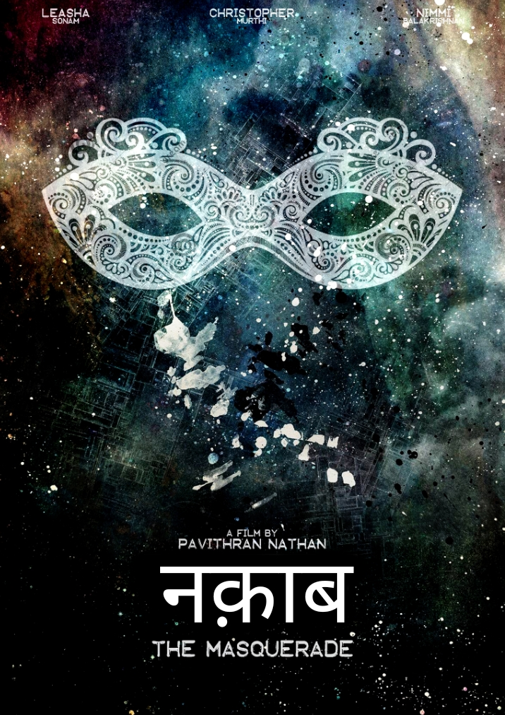 Poster of the Hindi movie, The Masquerade, one of the three films of La Salle Shorts Photo courtesy: Darpan
