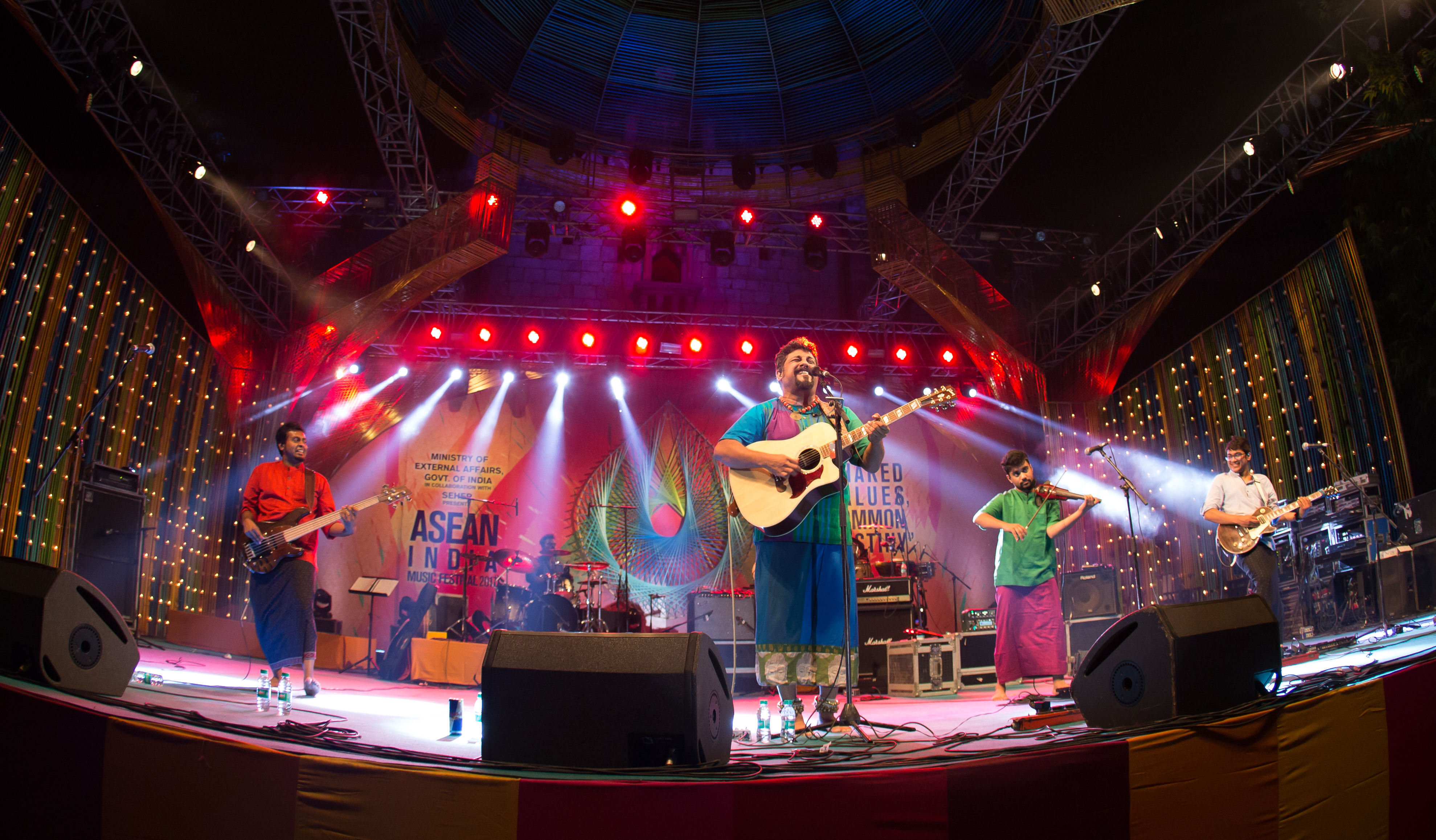The Raghu Dixit Project, was one of the performers at the ASEAN India Music Festival 2017 in the Indian capital of New Delhi