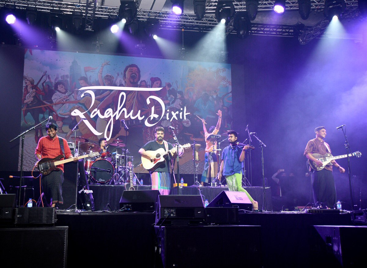 Band frontman Raghu Dixit is not afraid to shake it up. The stately Marina Bay Sands Ballroom turned into a club with the audience getting as close to the stage as possible.