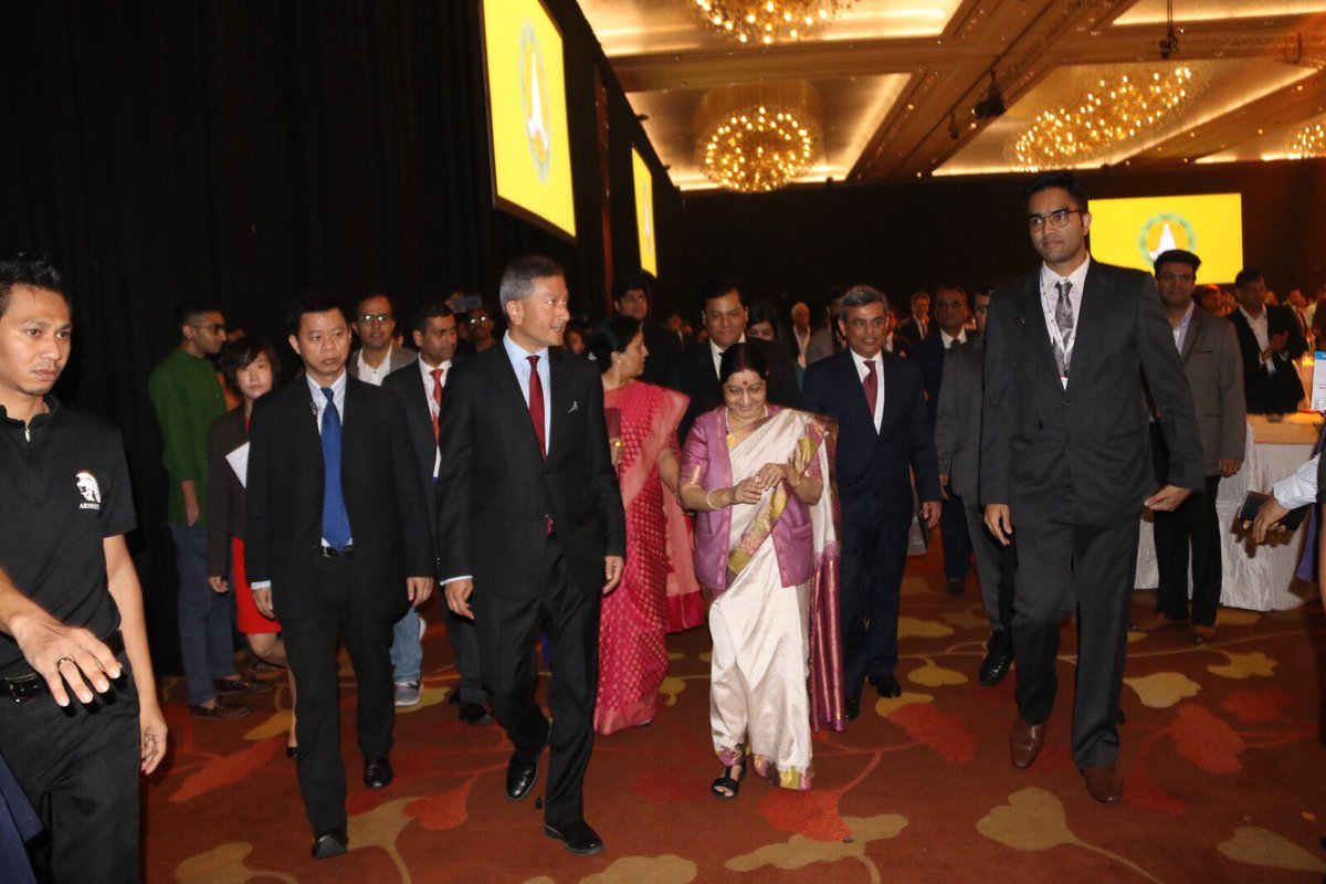 Year 2018 will be 'The Year of Milestones' for ASEAN-India relations: Sushma Swaraj