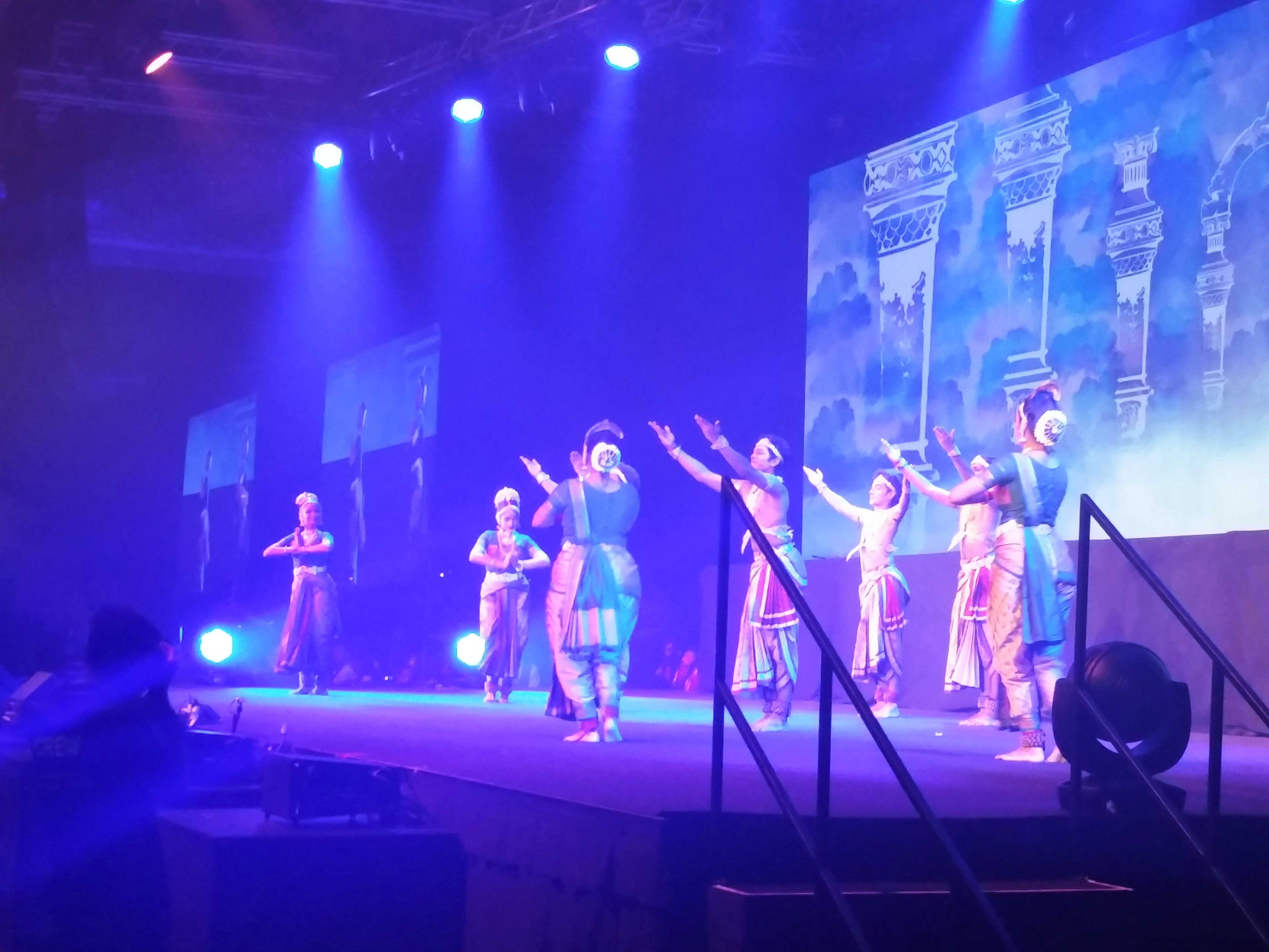 Artistes from dance companies and arts societies in ASEAN performing during Kala Tantavi – the cultural show during the gala dinner – to commemorate the ties that bind India and South East Asia.