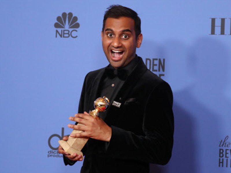 Aziz Ansari won the award for comedy series 'Master of None'.