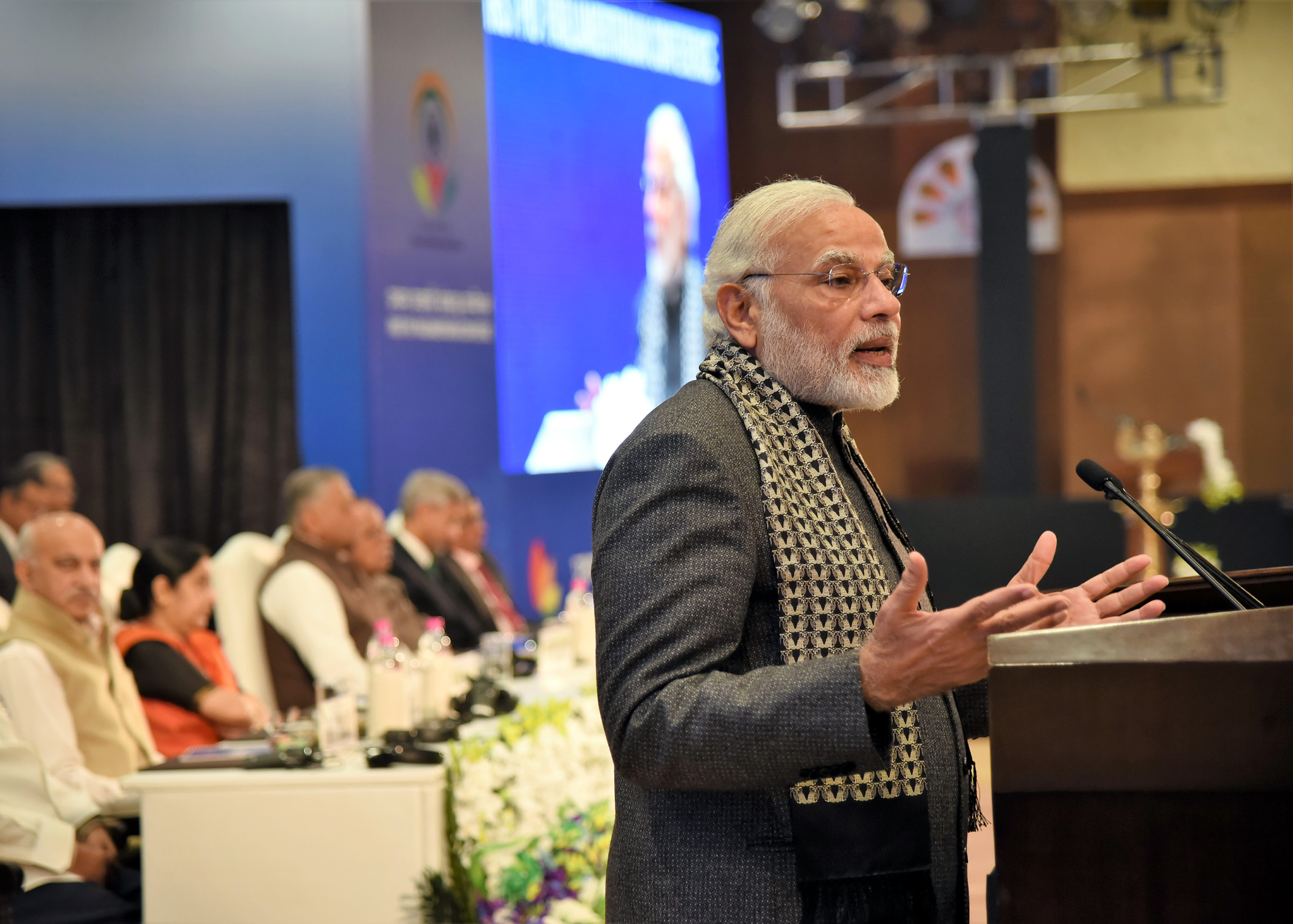 You are permanent ambassadors of India, Modi tells PIO parliamentarians