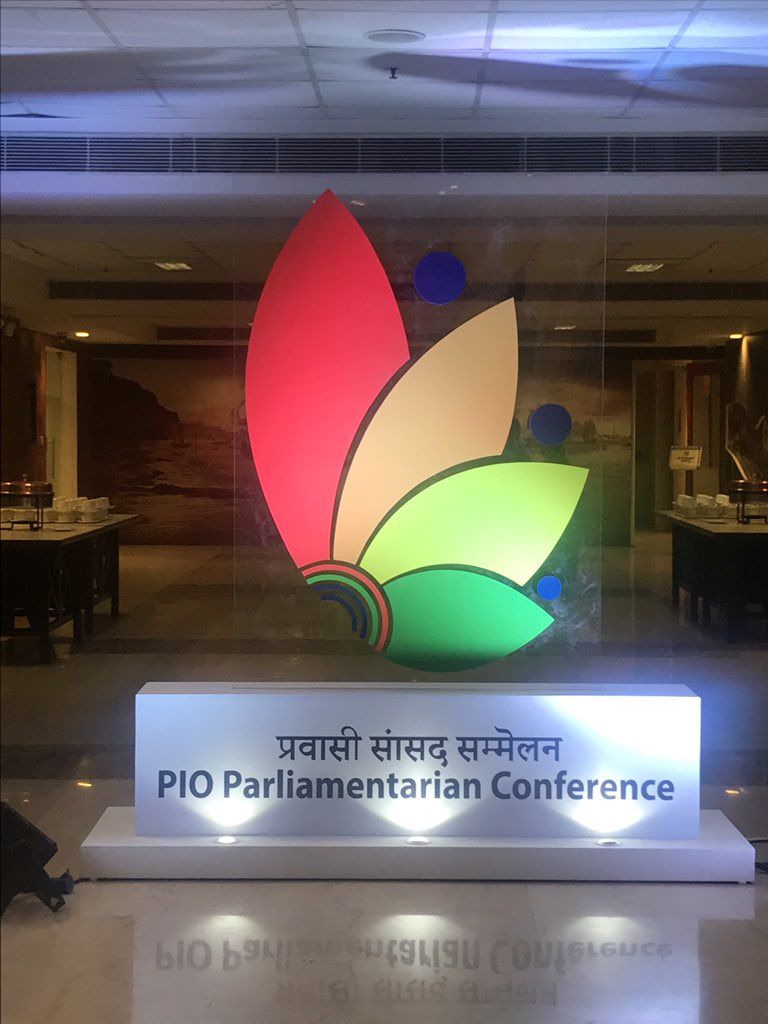 Pravasi Bhartiya Kendra decked up for First PIO Parliamentarians Conference in New Delhi (Photo courtesy: MEA