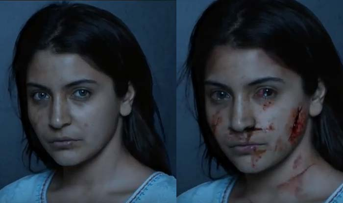 A poster of Anushka Sharma's upcoming film 'Pari'.