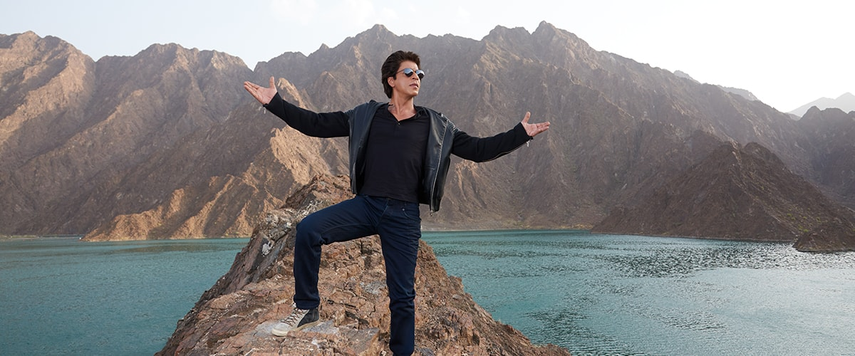 Bollywood superstar Shah Rukh Khan is once again inviting everyone to the enchanting land of Dubai.