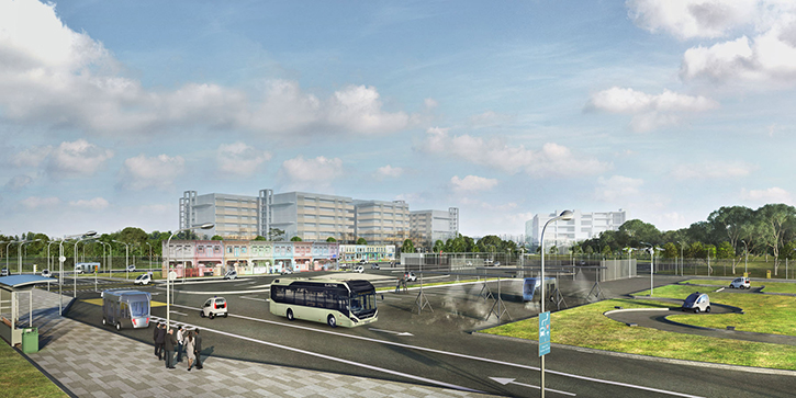Driverless buses will be tested in Singapore from early 2019.