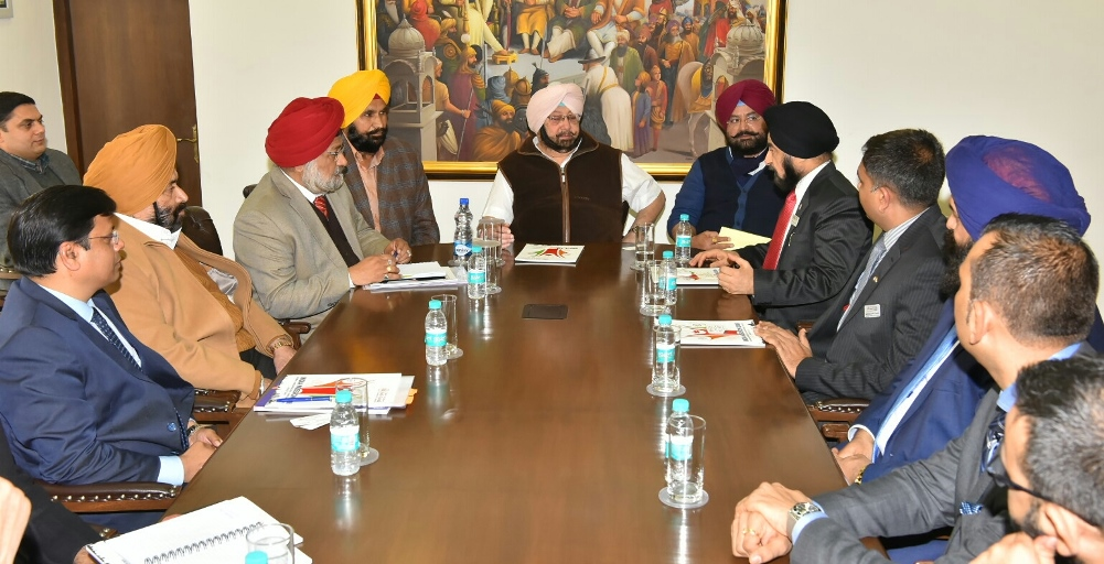 Captain Amarinder Singh, Chief Minister of Punjab urged the Canadian delegation to take benefit from the positive industrial environment prevailing in the state.