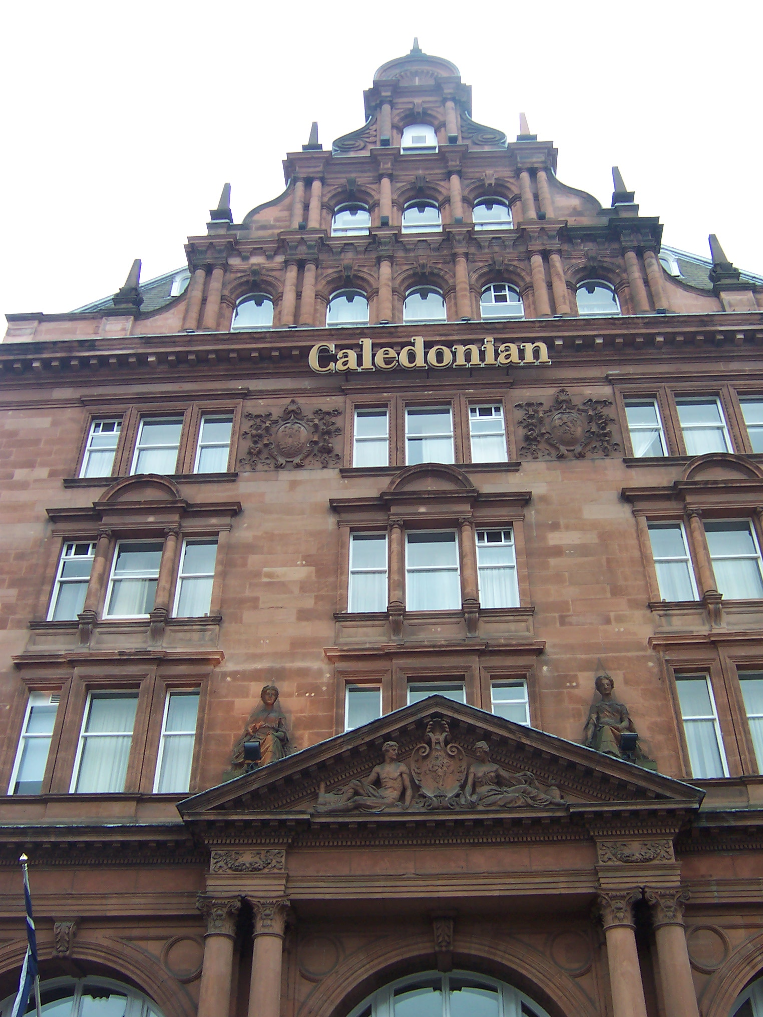 The Caledonian hotel is hailed as a Scottish landmark.