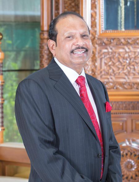 UAE-based NRI business tycoon Yusuffali MA