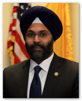 Gurbir S Grewal was nominated in December to serve as the next attorney general of the US state of New Jersey.