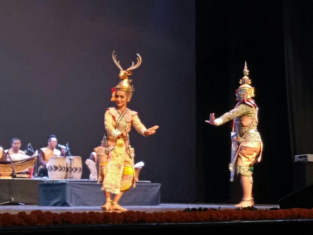 The Ramayana is considered a shared heritage of the eastern world.