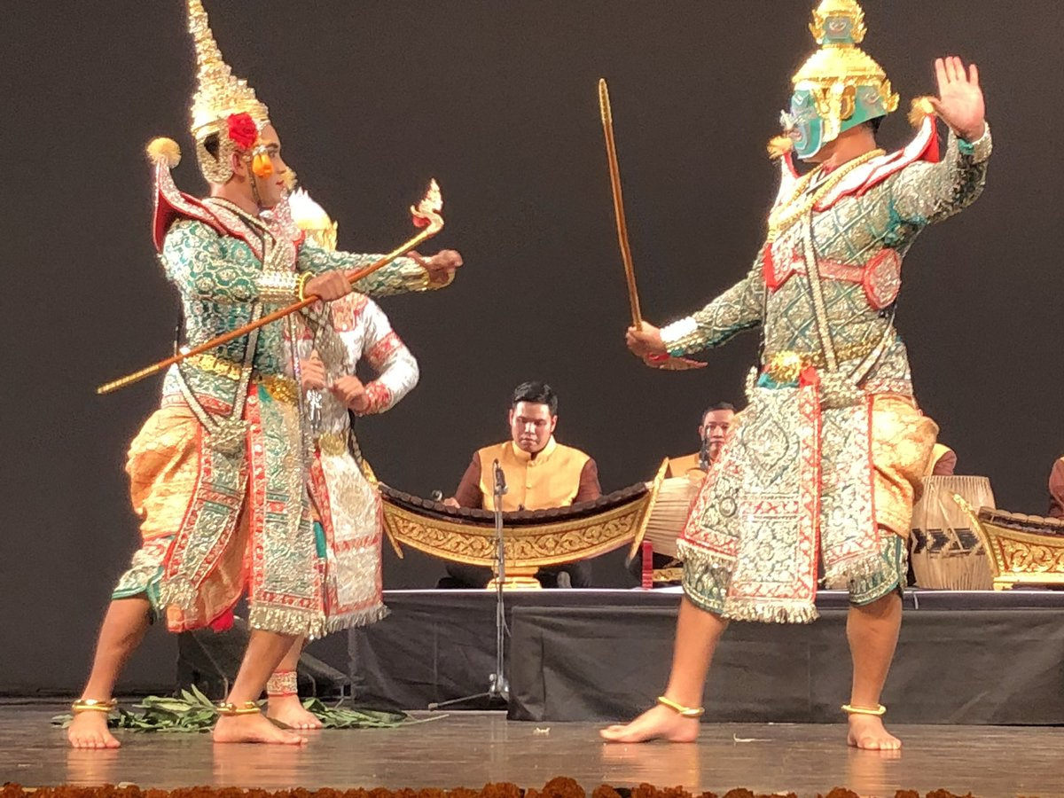 Ramayana is the signature epic of this part of the world and its influence is not confined to India boundaries. Photo courtesy: Twitter@ICCR_Delhi