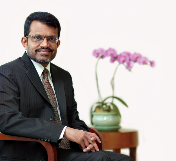Managing Director of MAS Ravi Menon.