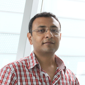Ramanuj Dasgupta, Faculty member, Genome Institute of Singapore, A*STAR Photo courtesy: A*Star