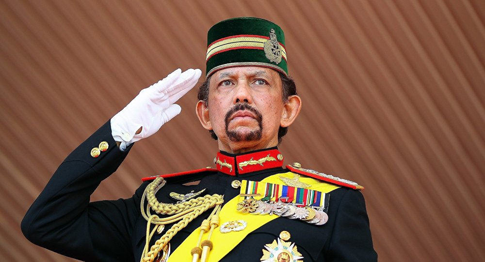 Brunei Sultan Hassanal Bolkiah piloted his aircraft to New Delhi surprising everyone who had assembled at the airport to receive him.