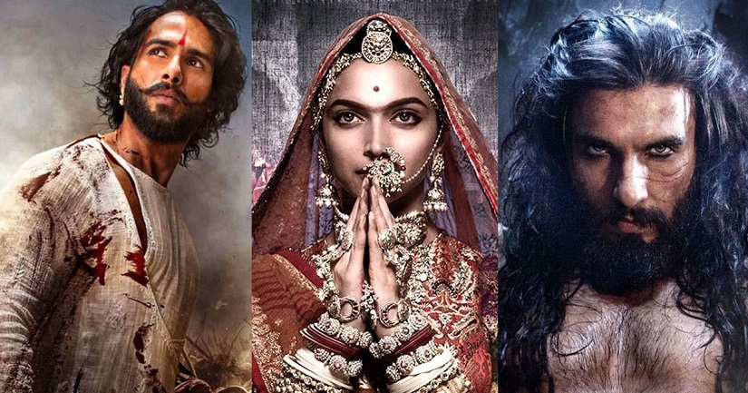 Mumbai police tightened security at the residences of the film's director Sanjay Leela Bhansali and the lead actor Deepika Padukone.