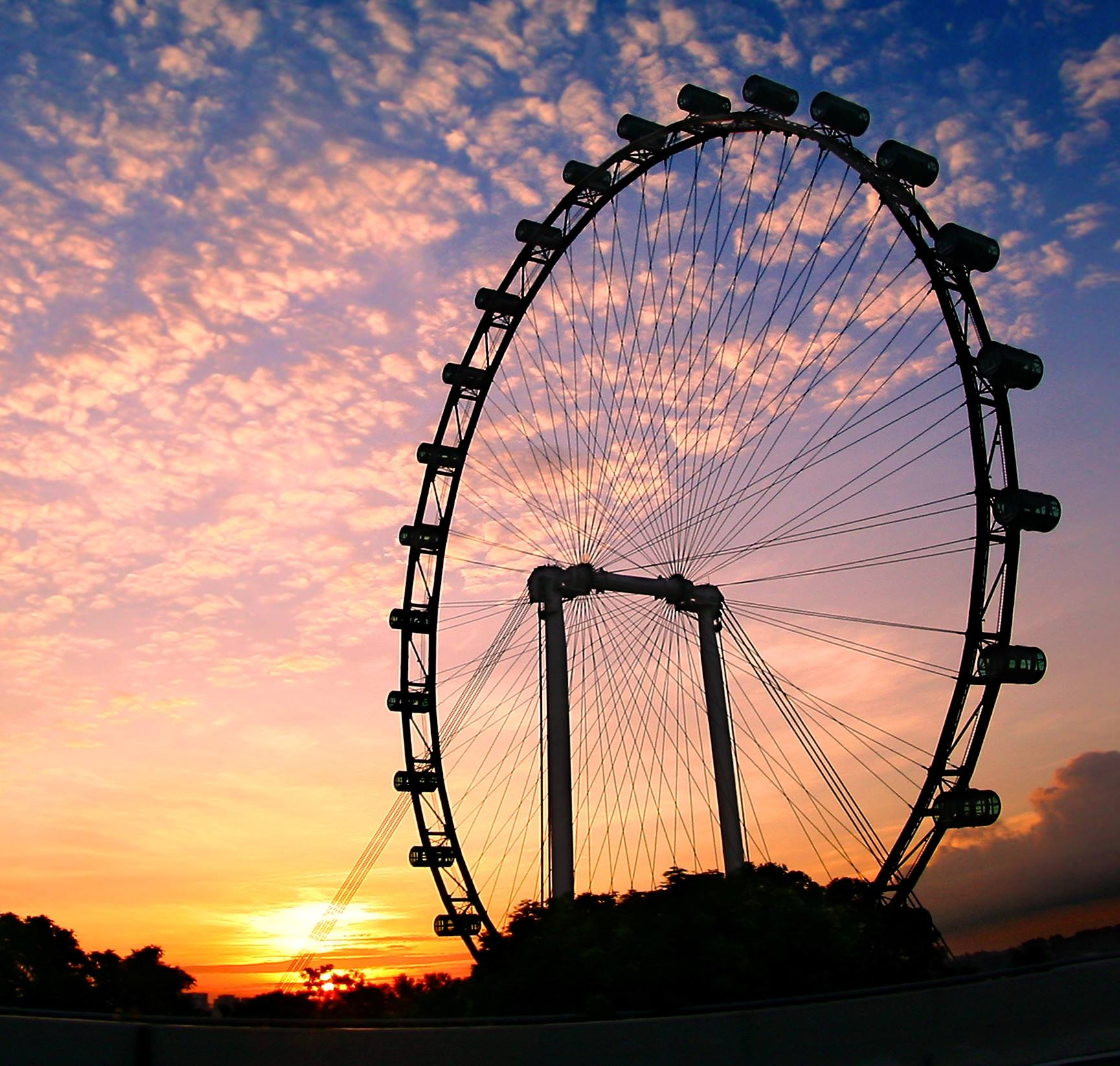 Photo courtesy: Singapore Flyer FB