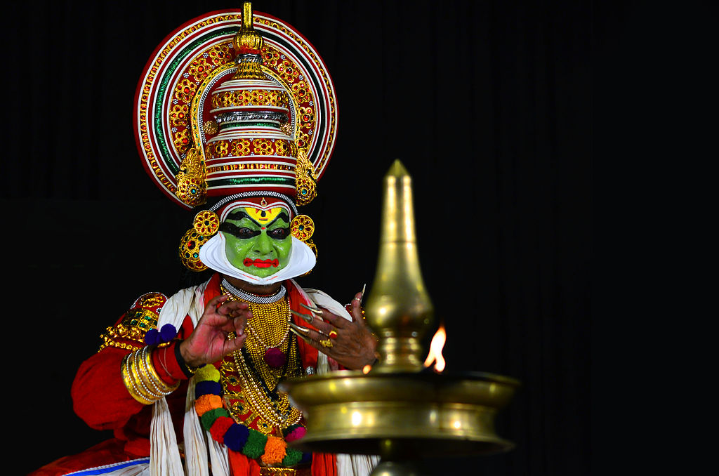 Kalamandalam Gopi as Dasharadha in Dasharadhavilapam.