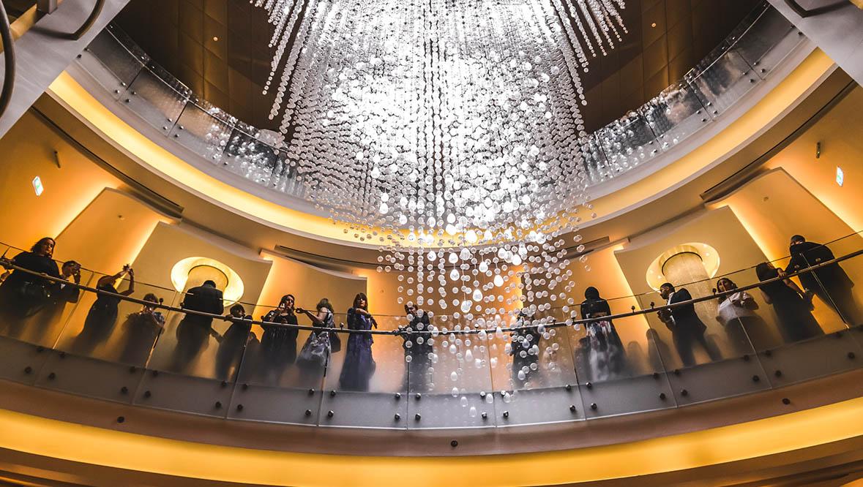 Dubai Opera has been developed by Emaar Properties.
