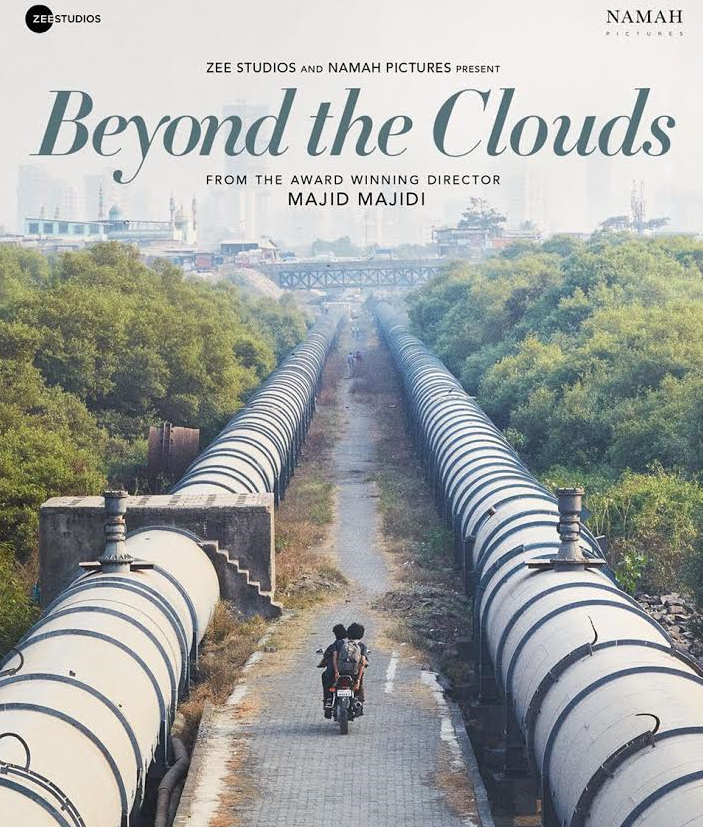 A poster of 'Beyond The Clouds'.