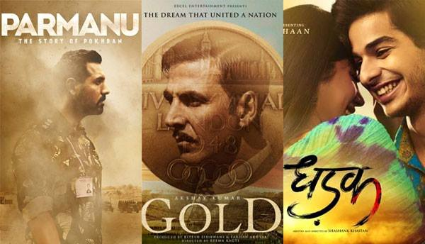 'Parmanu', 'Gold' and 'Dhadak' are slated to release this year.