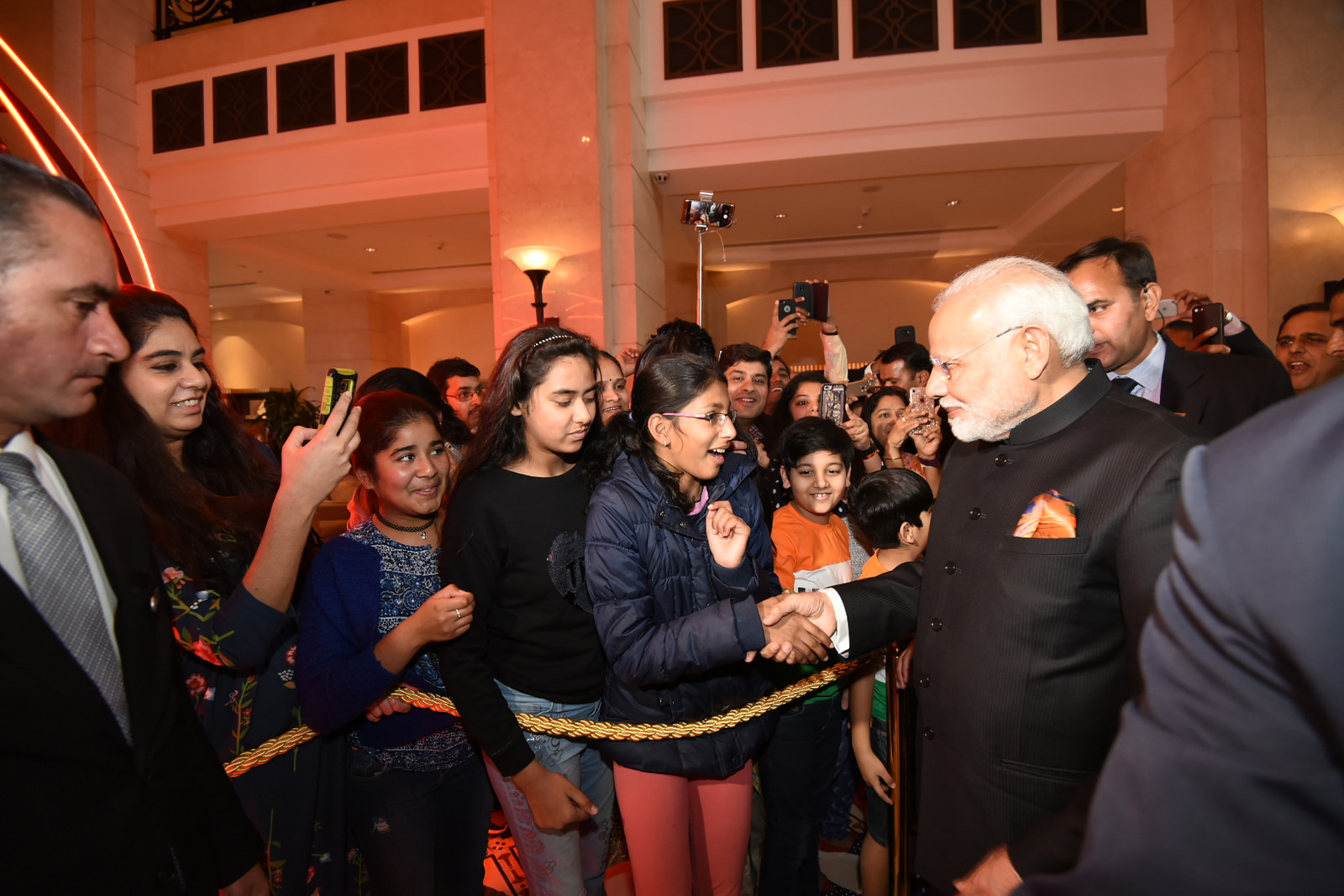 history was in the making as Narendra Modi became the first Indian Prime Minister to visit Palestine. He underlined India's support for a sovereign and independent Palestine and hoped for return of peace in the region.