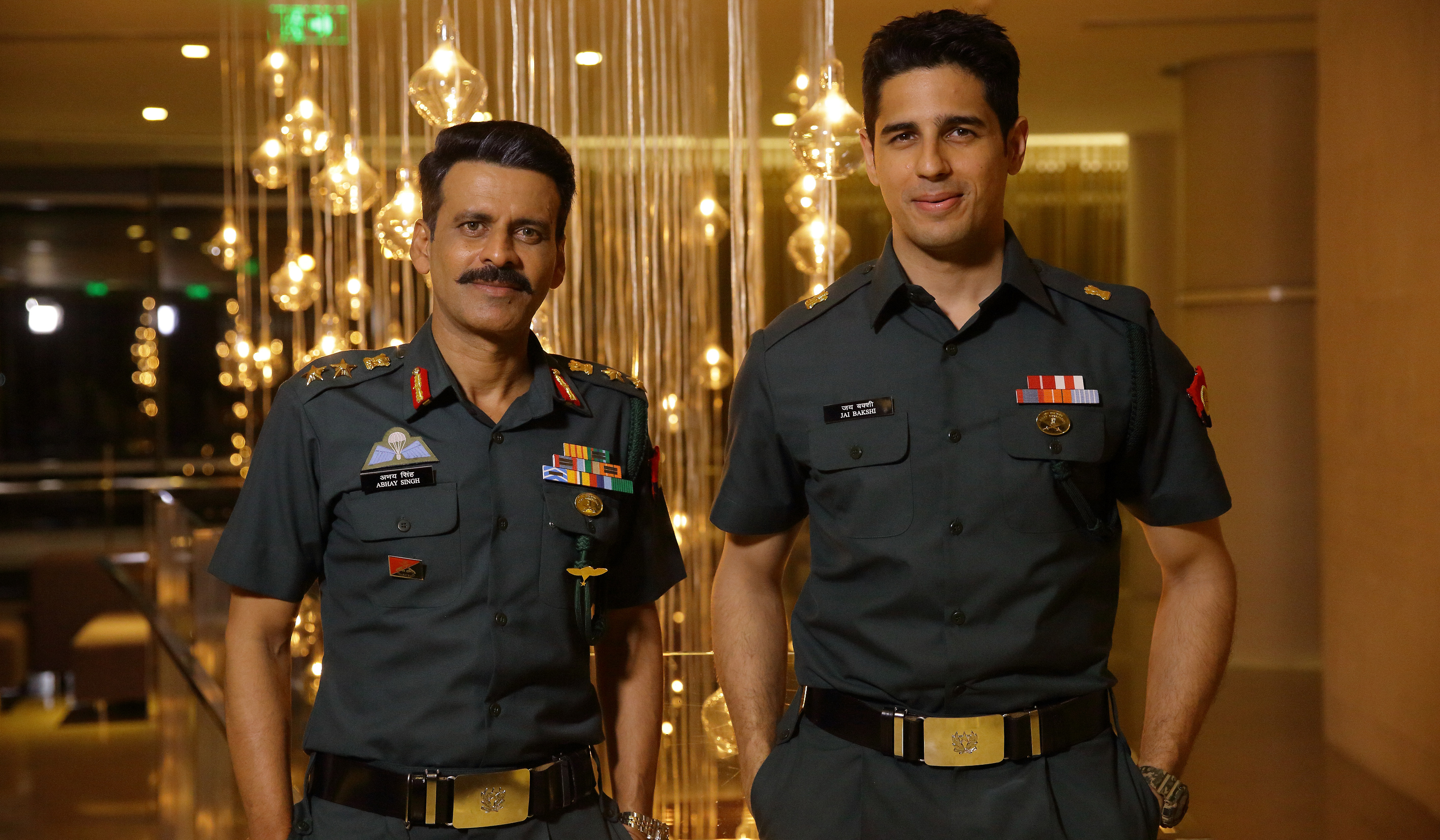 Film Aiyaari explores the lives of two Indian Army officers- a mentor and his protege essayed by Manoj Bajpai and Sidharth Malhotra respectively.