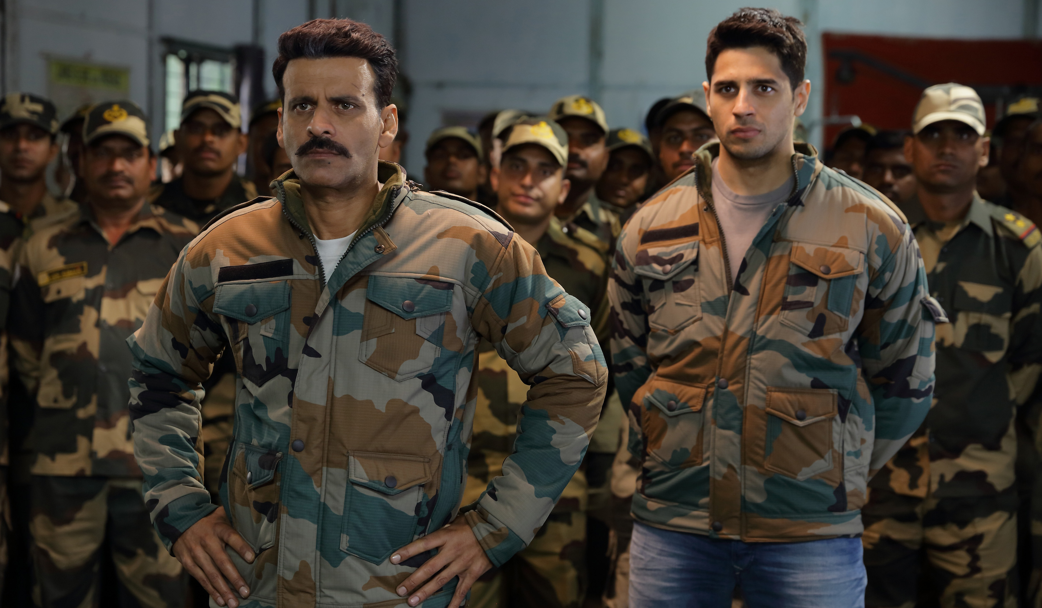 There is a confrontational scene between Manoj Bajpai and Sidharth Malhotra which has come out very well in the film.