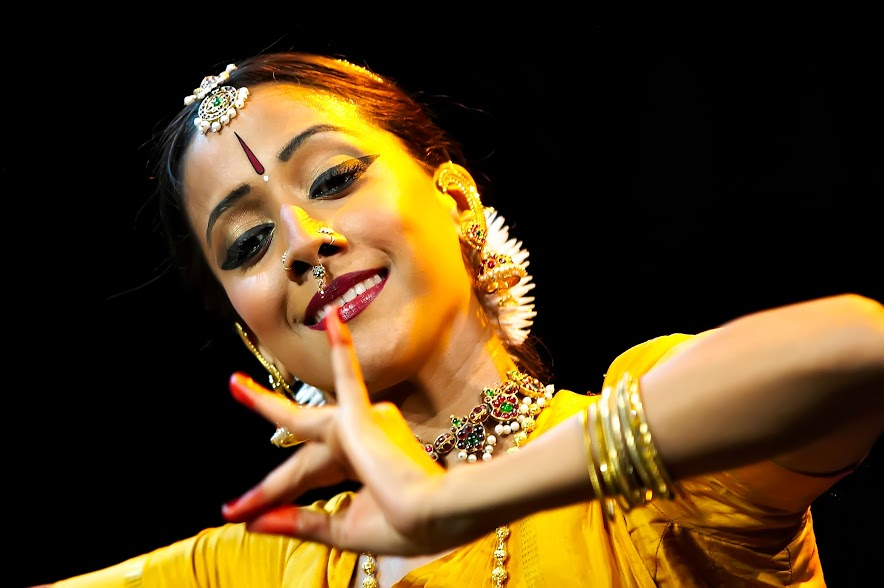 Mythili Prakash's choreographies Jwala – Rising Flame, Stree Katha, Chandalika, and Mara are imaginative and highly accessible productions.