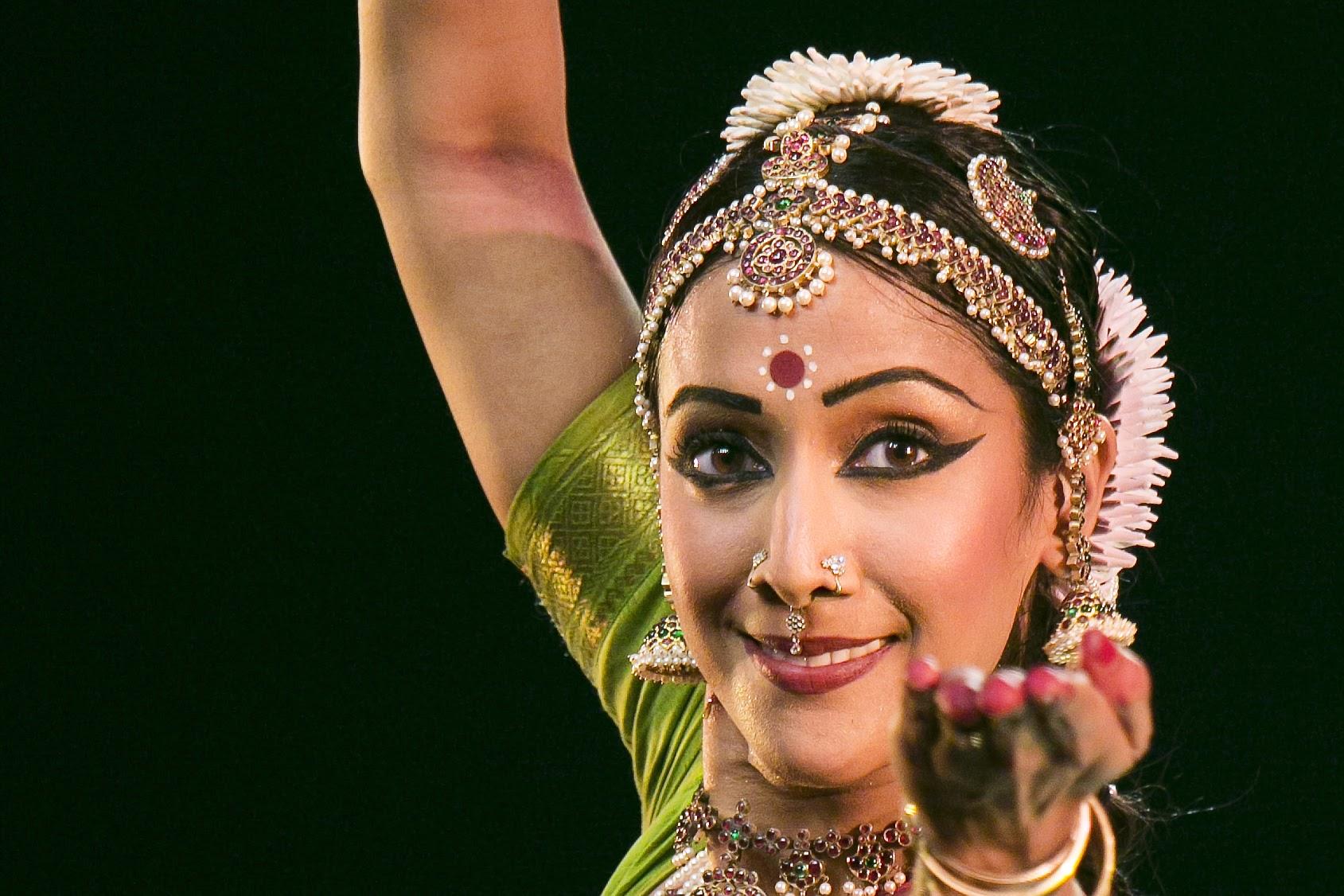 The choreographer of Mara, Mythili Prakash is one of the most celebrated and respected young Bharatanatyam dancers today. Photo courtesy: mythiliprakash.com