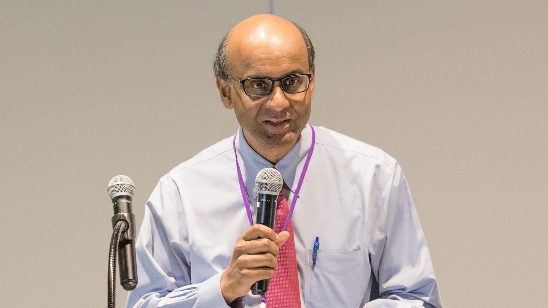 Deputy Prime Minister of Singapore Tharman Shanmugaratnam