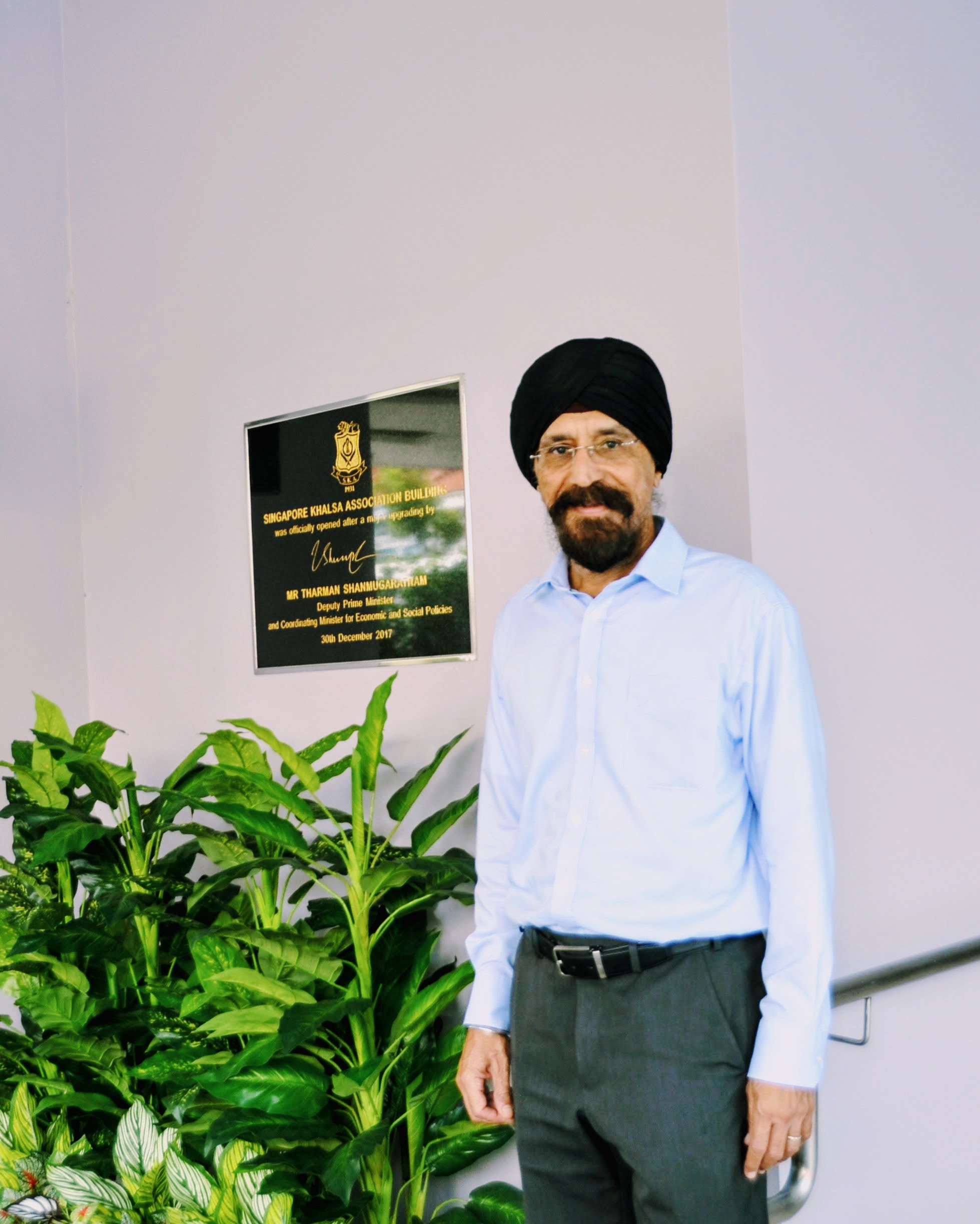 Born in Singapore, Mohinder's parents settled in the Lion City in the 1930s from their native region near Amritsar. Photo: Connected to India