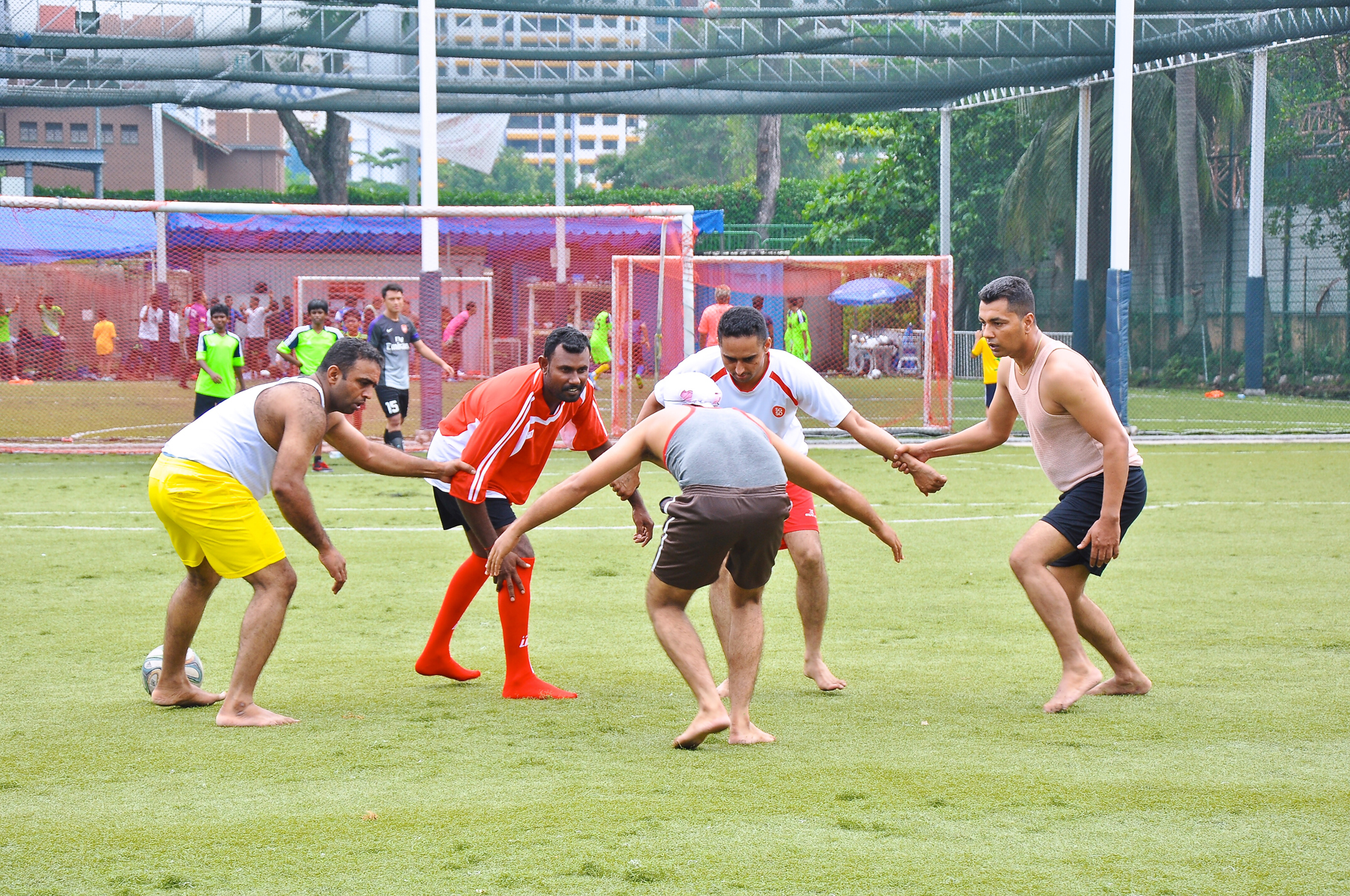The Baisakhi mela is also a time when an exhibition kabaddi match is organised.