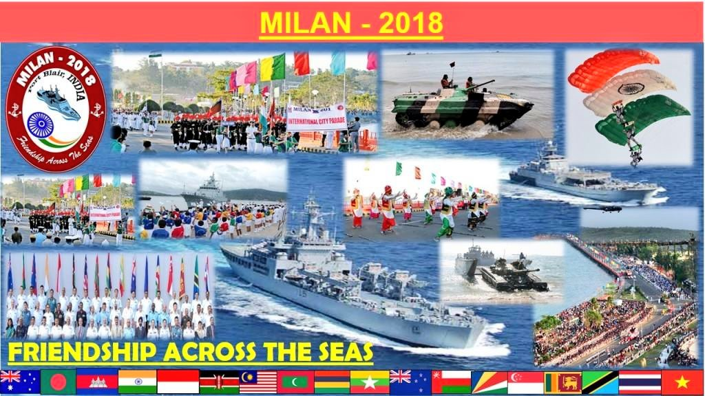 Indian Navy's Andaman & Nicobar Command hosts Milan 2018: Photo courtsey: Indian Navy