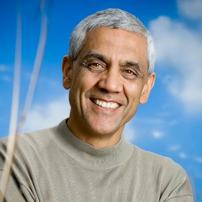 Venture capitalist Vinod Khosla has a net worth of USD2.3 billion.