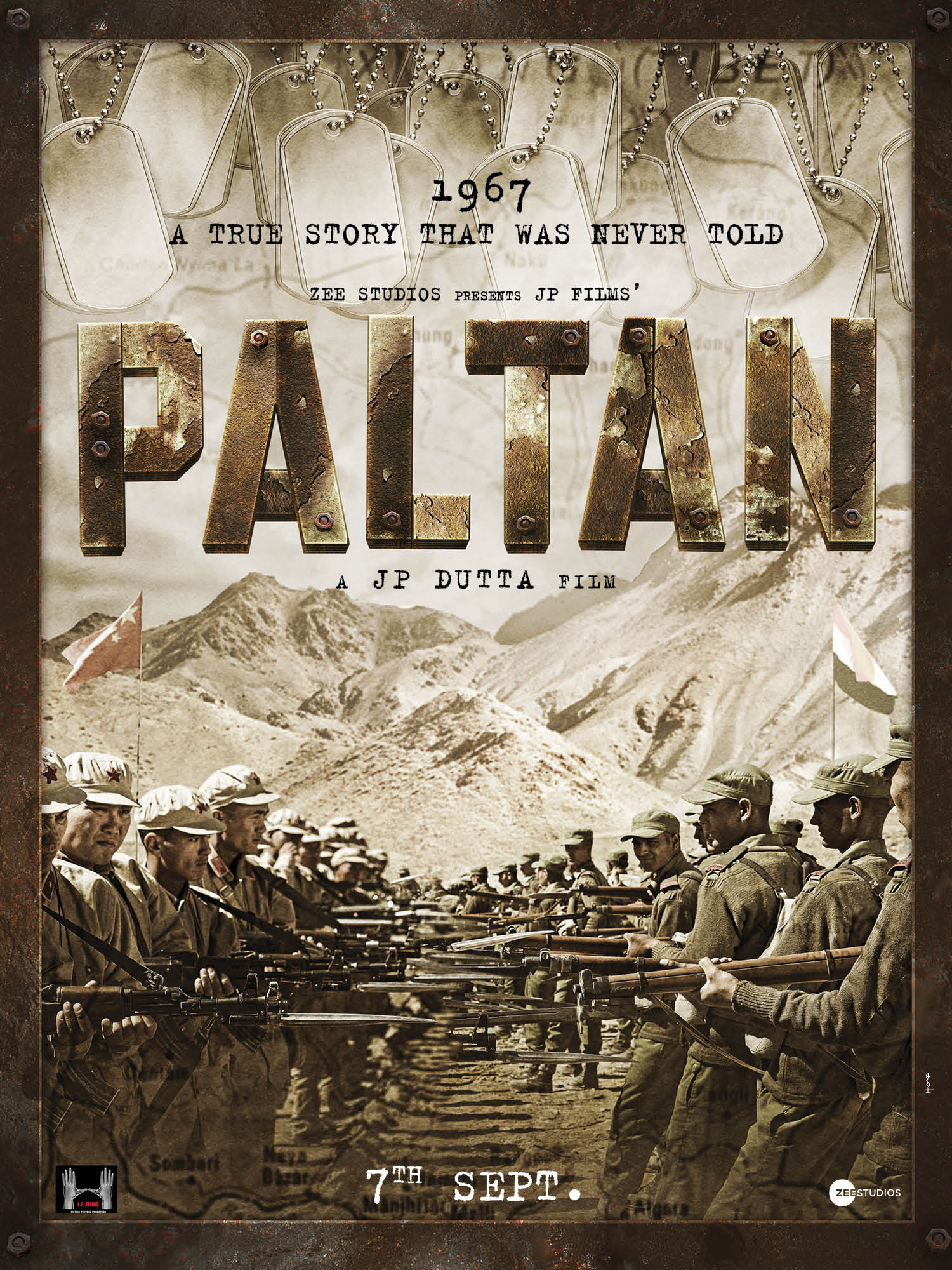 JP Dutta is back with his Paltan: First look poster out