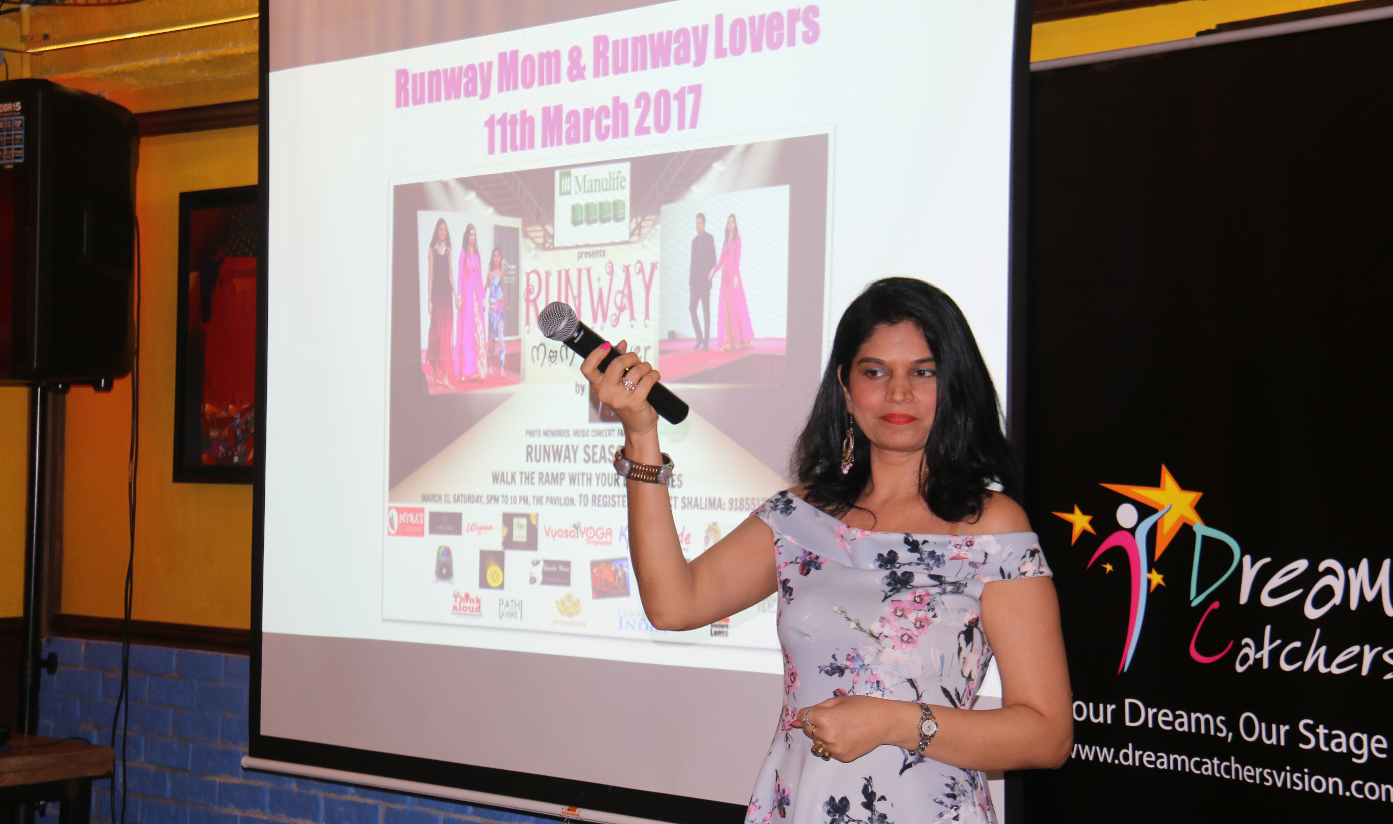Shalima Motial - the founder and CEO of Dream Catchers. Photo courtesy: Shalima Motial