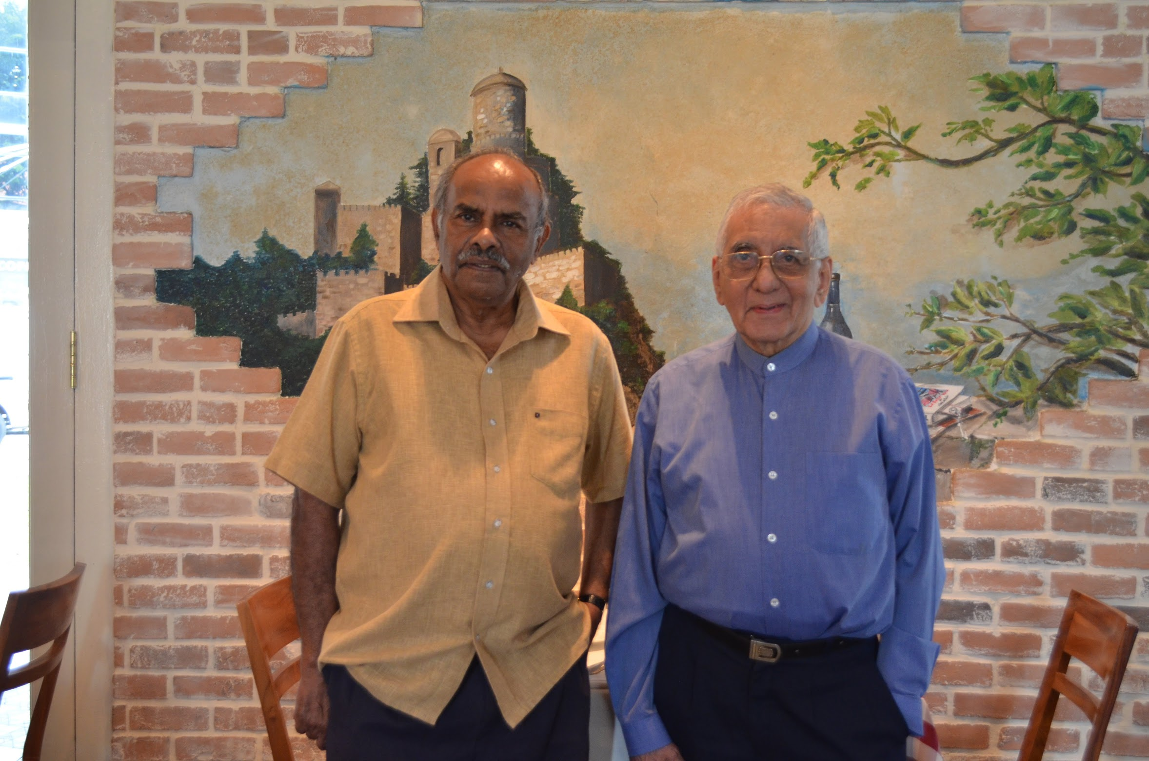 Mr K Kesavapany pictured with Rustom M. Ghadiali. Photo: Connected to India