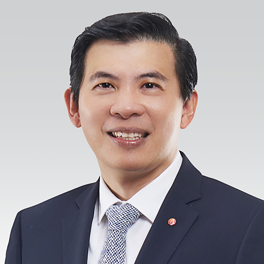 Lee Seow Hiang, CEO of Changi Airport Group.
