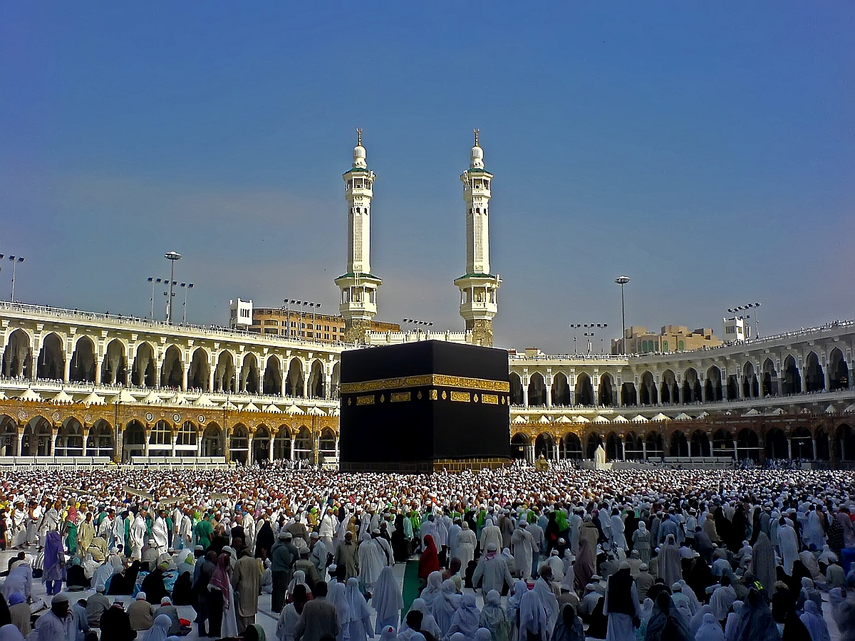 The pilgrims had gone to Mecca for performing minor pilgrimage (Umra).