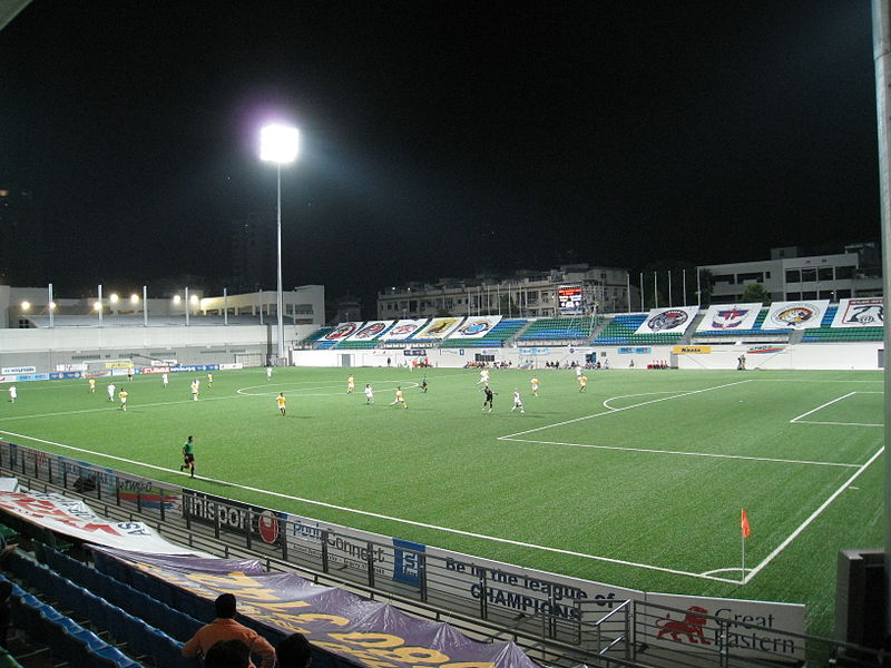 Jalan Besar Stadium, Singapore. Photo courtesy: Wikipedia
