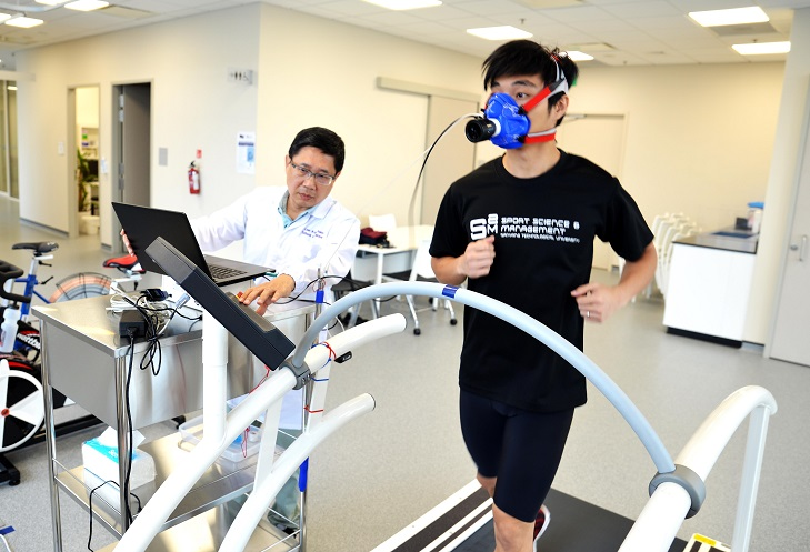 The new postgraduate diploma in sports medicine focussing on sports related injuries and ageing is the first of its kind in Singapore and Asia.