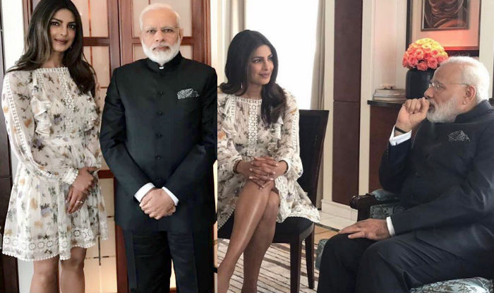 Priyanka Chopra thanks PM Narendra Modi for taking time out to meet her in Berlin!
