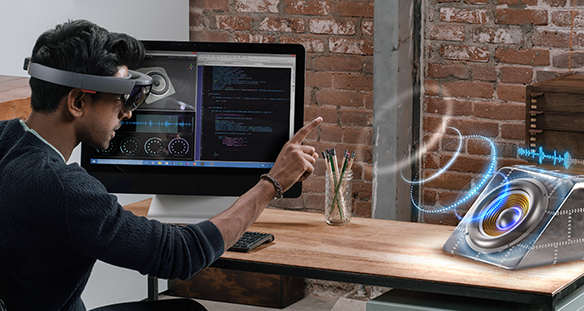 Microsoft HoloLens is available in Singapore in two configurations - the Developer Edition and Commercial Suite.