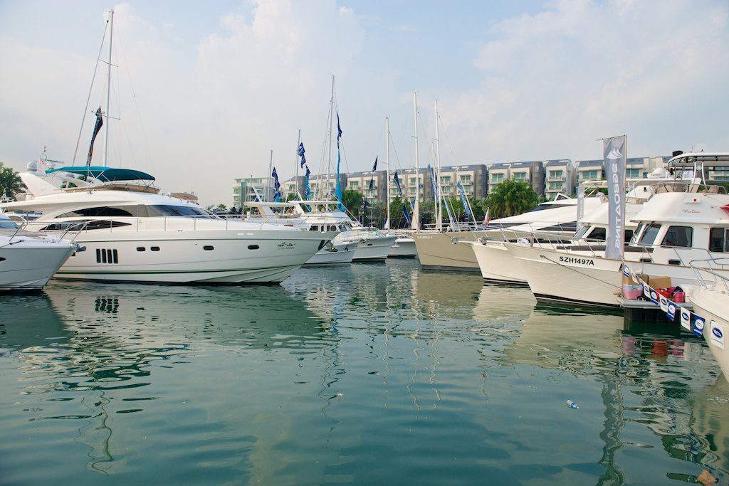 Photo courtesy: Singapore Yacht Show